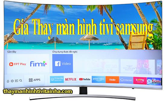 thay màn hình tivi samsusng bị vỡ tại nhà